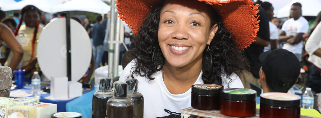 blissful-therapy-vendor-booth-las-vegas-juneteenth-fastival-2019